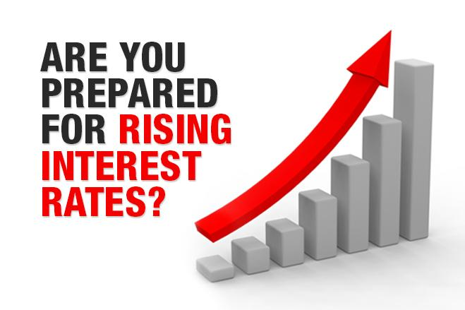We think that rising interest rates are alarming for banks and lenders